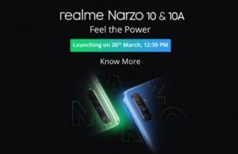 Realme Narzo 10 & Realme Narzo 10A Latest News!