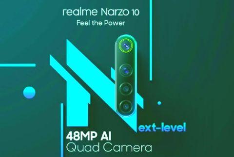 Realme Narzo 10